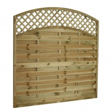 Arched Lattice Top Panel - 1.8m x 1.8m