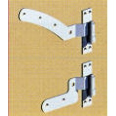 "Curved Rail Hinge Kit - 12"" (GALV) - pre-pack"