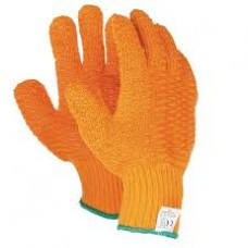 Orange Criss Cross Glove