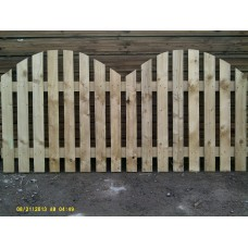 Palisade Panel (Bowed Top) - 1.8m x 0.9m