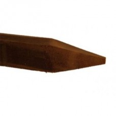 Brown Posts - 0.9m x 75 x 75 pointed