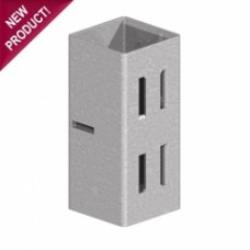 "Post Extender - 4"" x 4"" (Galvanised)"