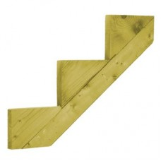 Deck Stair Stringer (3-Step) - 872mm x 250 x 48